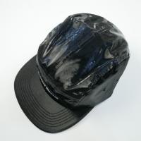 シュプリーム SUPREME 18SS Coated Linen Camp Cap キャンプキャップ 黒 Size【フリー】 【新古品・未使用品】