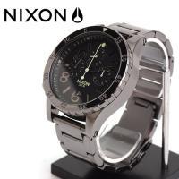 ニクソン NIXON 腕時計 /  48mmケースは大きすぎず、小さすぎず、カジュアルからフォーマル...