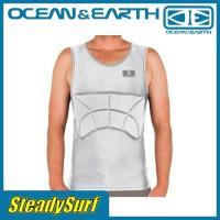 グレー リブガード OCEAN&EARTH(オーシャンアンドアース)RIB GUARD PADDED SINGLET ウェットスーツ サーフィン/マリンスポーツ