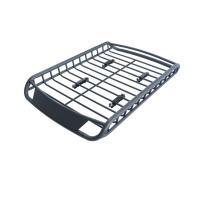 特価 アルミ製 ルーフラック カーゴラック ルーフバスケット ブラック R06 1400×900