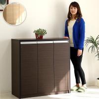 ニトリ IKEA 無印好きに人気の幅90cm・ロータイプ(高さ93cm)の日本製・完成品の下駄箱・シ...