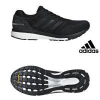 adidas【アディダス】 adizero boston 3 m コアフ゛ラック ランニングシューズ 19SS B37382