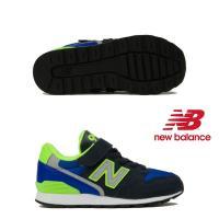 【ニューバランス】new balance YV996 DN (BLUE/LIME) キッズシューズ スニーカー 子供靴 YV996-DN 19FW nbk