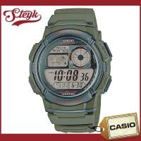 CASIO カシオ 腕時計 チープカシオ デジタル AE-1000W-3A / 大きめのケースとボタ...