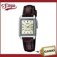 CASIO カシオ 腕時計 チープカシオ アナログ LTP-V007L-9E / スクエアフェイスの...