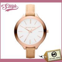 Michael Kors マイケルコース 腕時計 アナログ MK2284 / 上品な淡いブラウンのレ...