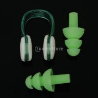 セットウォータースポーツガードノーズクリップ耳栓水泳 説明:   2本のスイミングセット 耳および鼻...