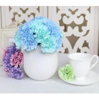 青人工シルクフラワーカーネーションの花束の結婚式の家の装飾