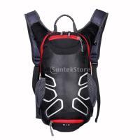 説明:  説明: 超軽量防水布で作られたサイクリングバックパック、  2.5Lの水袋(含まれていない...