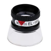 15倍の倍率 シリンダー ルーペ レンズ 拡大鏡 ジュエラーツール