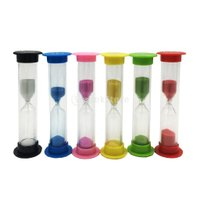 説明:  30秒1、2、3、5、10分砂時計タイマーセット、砂時計サンドタイマー時計キッチンツール友...