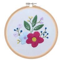 刺繍 キット クロスステッチ DIY ホーム インテリア 刺しゅう 裁縫道具セット 全6スタイル - #2