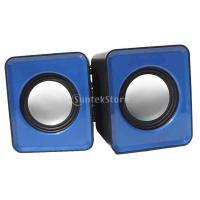 超軽量 USB2.0 音楽再生 ミニスピーカー ステレオ サウンドスピーカー MP3プレーヤー/携帯電話/ラップトップ