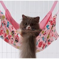 猫 ペット ハンモック フック付き 昼寝 夏冬両用 耐荷重10KG (45cm x 45cm)