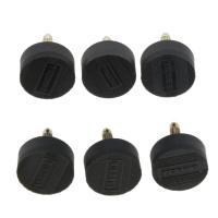 3組のハイヒールのヒントタップ靴修理交換ダボススティレットパッド