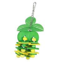 鳥おもちゃ 小動物おもちゃ ケージ飾り スウィング チェーン木製ブロック 鳥 ハムスター オウム 全6タイプ