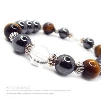 天然石 パワーストーン ブレスレット メンズ アクセサリー 限定特価 ヘマタイト タイガーアイ