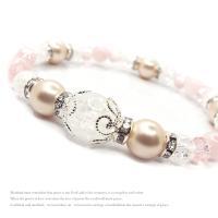 天然石 パワーストーン ブレスレット レディース アクセサリー 限定特価 桜色 spring 2nd