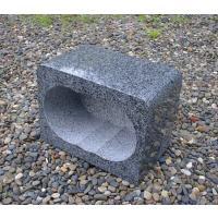 墓前用のグレー御影石香炉です。 ● 間口  :  240mm  ● 奥行き :   150mm  ●...