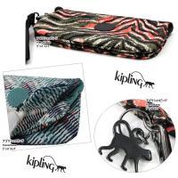 Kipling キプリング ポーチ K15813 Creativity XL ストラップ  ペンシルケース 化粧ポーチ ag-858800
