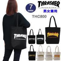 THRASHER スラッシャー バッグ THC800 プリントトート マグロゴ フレームロゴ Bagバッグ 男女兼用 ag-948700