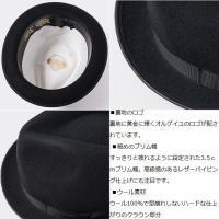 オルゲイユ 通販 ORGUEIL OR-7071 Felt Hat フェルトハット 帽子 ステュディオダルチザン