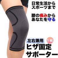 膝用サポーター スポーツ ウォーキング 運動 痛み軽減 保護 固定 2枚組