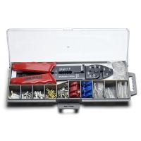 配線用ツールセットは、電装部品の取付けや配線類の作成作業などに便利な電工ペンチと端子類がセットになっ...
