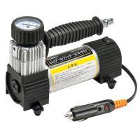ミニエアーコンプレッサー DC12Vタイプは、車のタイヤ等に空気を充填するためのシガーソケット電源で...