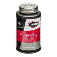 テック(TECH) パンク修理用 加硫セメント ハケ付き No.760は、パンク修理に使用する接着剤...