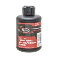テック(TECH) パンク修理用 加硫セメント No.770は、パンク修理に使用する接着剤(ゴムのり...