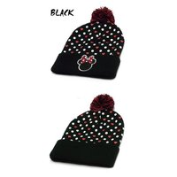 ☆CONCEPT ONE【コンセプトワン】MINNIE MOUTH CUFF BEANIE POM KNIT ミニーマウス カフ ビーニーキャップ ニット 11522
