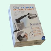 譜面台用LEDライト(3連LED) MIGHTY BRIGHT triple L.E.D. MUSI...