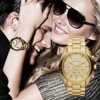 ★Women's Gold Tone Dial Gold Tone Stainless Steel ...