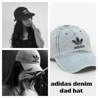 """""""RELAXED DENIM STRAPBACK DAD HAT"""" B10079  Adidas O..."""