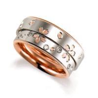 商品詳細 結婚指輪 マリッジリング 2本セット  ■マリッジリング女性用  ◆金種 K18 ピンクゴ...