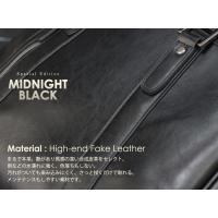 大幅値下げ 訳アリお買得品 徹底的に黒にこだわったシックでモードな ビジネスバッグ  MIDNIGHT BLACK メンズ A4 2way