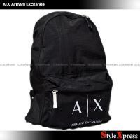 <アルマーニエクスチェンジ リュック バックパック バッグ 黒 ブラック A|X Armani Ex...