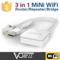 Wifi bridge ブリッジ 無線からLANケーブルに切替 無線対応できない機器にぴったり  1...