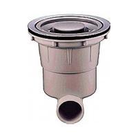 BL仕様シンクの流し排水トラップです。 浅型ステンレスカゴ付で生ゴミはすぐに処理できます。 取り付け...