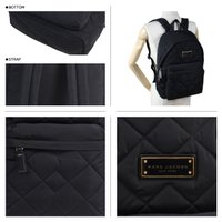 MARC JACOBS マークジェイコブス バッグ リュック バックパック M0011321 QUILTED BACKPACK レディース ブラック [3/13 再入荷]