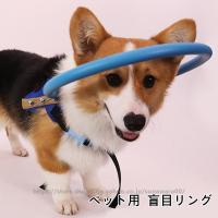 盲犬杖 軽量 脱着しやすい 小型犬 中型犬 大型犬 猫用品盲目リング ペット用 アイ フェイスガード ペット用介護用品 【白内障 視覚障害 】 猫 犬 ねこ いぬ