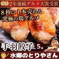 餃子 手羽餃子5本セット あすつく 点心 手羽先餃子(鶏手羽) お取り寄せグルメランキング1位受賞