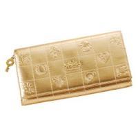 風水財布『ミリオンゴールド(財布)』は図柄からティアラの飾り、風水八角の鍵まで、風水の秘伝に従って監...