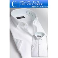 ワイシャツ 半袖 形態安定加工 メンズ クールビズ Yシャツ ビジネス 形状記憶 【2枚よりどり6,500円】 すっきりシルエット やや細身 COOL BIZ