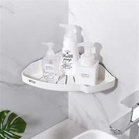 バスルームラック シャワーラック 浴室用ラック バスルームのコーナー 清潔 (1.三角ラック)