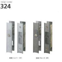 WEST の引違戸錠です。    ピンシリンダー採用。 付属のキーは3本です。  対応扉厚は25.5...