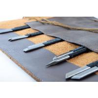 篆刻刀10本に本格牛革ケースのセットです。   切れ味保障の篆刻刀がセットです。  ●篆刻は各種揃っ...