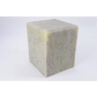 篆刻用 印材 青田石でございます。  お任せで発送いたします。  サイズ:約4cm×4cm×5cm ...