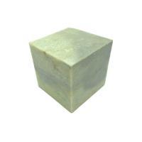 大型印材の青田石になります。6cm印材をお任せ発送いたします  サイズ:約6cm×6cm×6cm  ...